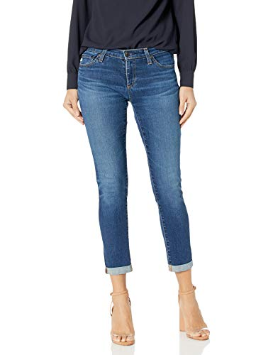 AG Adriano Goldschmied Womens The Stilt Roll Up Jean