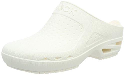 Chaussure Respirable Bloc Lanière Wock Stérilisable Absorption Antidérapante Lavable Chocs Des À Blanc Ouvert Unisex Professionnelle PIZCq4Z