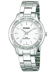 Pulsar Bracelet Silver-Tone Dial Womens Watch #PRS661X
