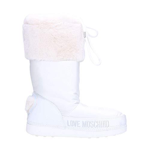 Love Snow White Donna D19mo27 Hearth Boot Scarpe Nylon Moschino q1IfwRI