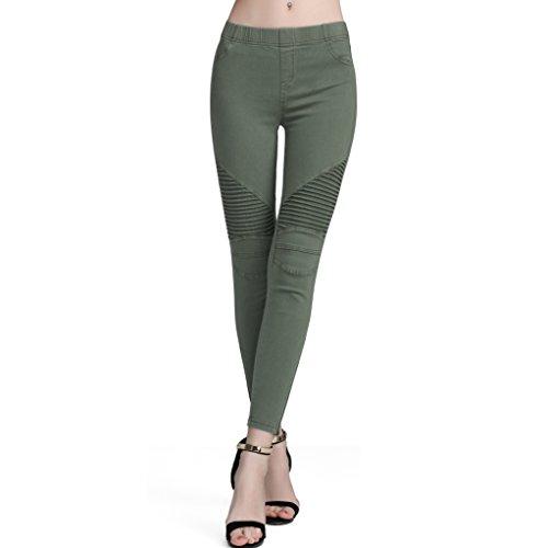 Moto Pants Womens - 4