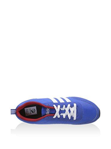 Adidas - V Run VS - Color: Azzuro-Bianco-Rosso - Size: 45.3