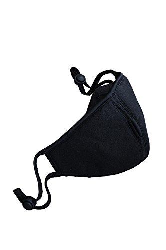 ByTheR Mens Punk Dark Wear Black Ninja Fashion Chic Standard Biker Mask (Biker Chic Costume)