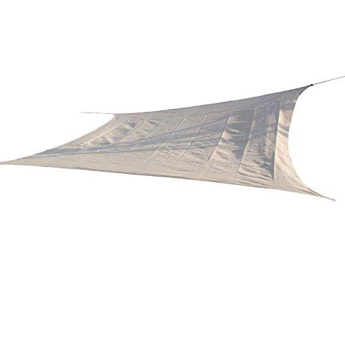 Outsunny Rectangle Outdoor Patio Sun Shade Sail Canopy, 2...