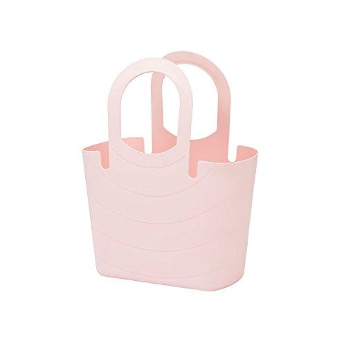 Borsa spiaggia, plastica flessibile multiuso LUCY 15 Lt colore: rosa cipria