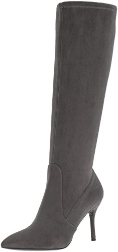 Image of Nine West Women's Calla-Wide Fabric Knee-High Boot