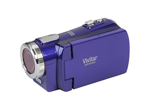 Vivitar 12.1MP Digital Video Camera, Colors May Vary(DVR810HD-GRAPE)