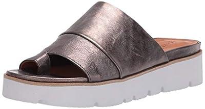 Gentle Souls Women's Lavern Platform Slide Sandal Toe Ring Sandal