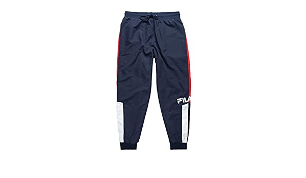Fila Hudson Track Pants Peacoat/Chinese Red/White MD: Amazon.es ...