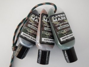 Carbomask 1 oz. Three-Pack: Black, Green, Brown ()