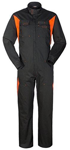 Meccanici Gommista E Collo Silverstone X Arancione A40129 Nero Lavoro Tuta Coreana qSpVUzMG