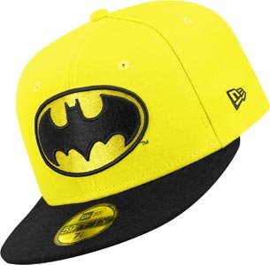 Baseball Beretto Uomo New Era Character Basic Batman 59Fifty Fitted
