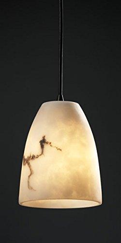 Justice Design FAL-8815-18-DBRZ, LumenAria Mini Cone Pendant, 1 Light, 40 Watts, Bronze ()