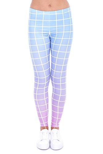 Zohra Printed Women's Novelty Fitness Leggings Pants (43451)