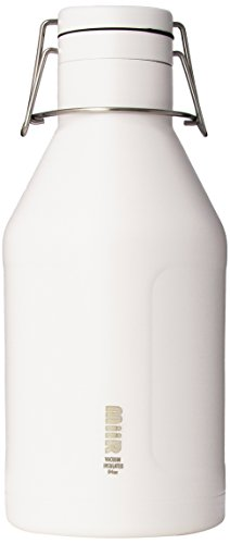 MiiR Stainless Steel Insulated Growler Bottle, 64 Ounce
