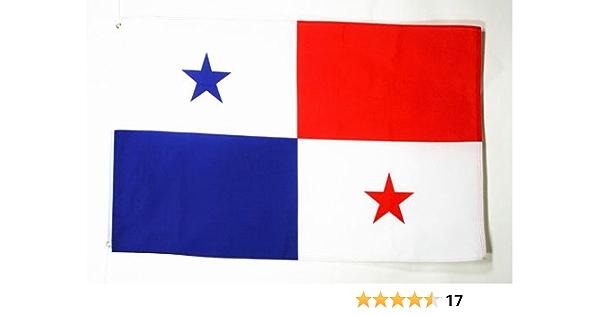 AZ FLAG Bandera de PANAMÁ 90x60cm - Bandera PANAMEÑA 60 x 90 cm: Amazon.es: Hogar