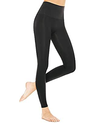 ASSETS Red Hot Label by SPANX Firm Control Leggings, XL, Black