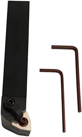 YYG-YYG 切削工具、20x125mm MWLNR2020K08インデックス外部旋盤は、2個レンチと工具ホルダーをオンにします スパナ
