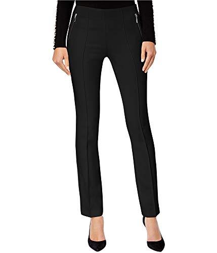 INC International Concepts Curvy-Fit Skinny Pants (Deep Black, 14)