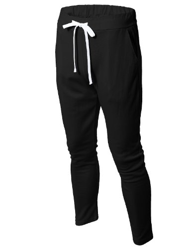 H2H Men's Active Casual Outdoor Slim Fit Elastic Comfortable Jogger Sweatpants