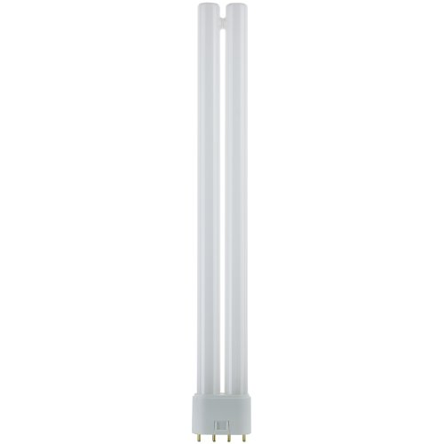 Sunlite FT24DL/835 Compact Fluorescent 24W Twin Tube Light Bulbs, 3500K Neutral White Light, 2G11 Base