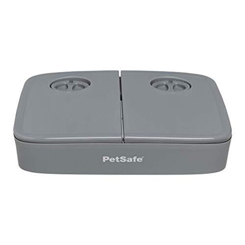 PetSafe Comedero automático para Mascotas de 2 Comidas de - Diseño a Prueba de manipulación - Almacena Comida Seca de Perros y Gatos 645.46 ml