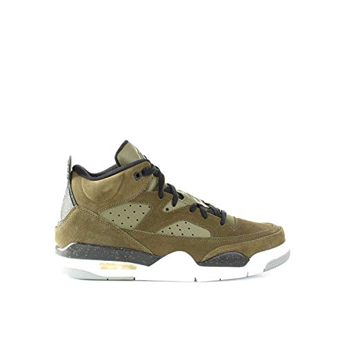 300 White Olive Uomo Black Sneakers 40 Jordan 580603 Canvas 57nxWawFA