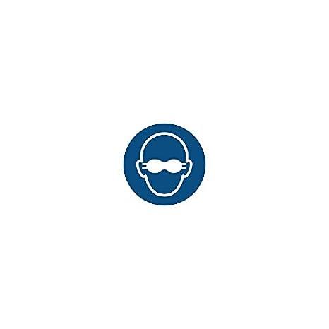 Panel de señalización, obligation. Gafas de soldador obligatorio Soporte flexible adhesivo vinilo: Amazon.es: Oficina y papelería
