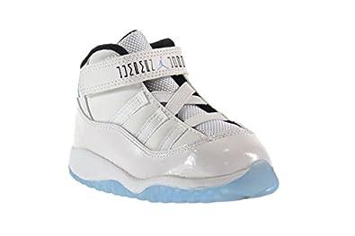 ac79022a8b79f ... new zealand amazon air jordan 11 retro bt baby toddlers shoes white legend  blue black 378040