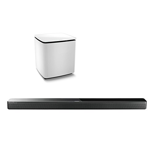 Bose SoundTouch 300 Soundbar Bundle with Acoustimass 300 Wireless Bass Module, - Bose Home In Theater