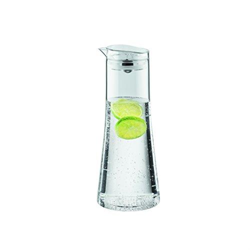 Bodum 11187-10-2 Bistro Water Carafe 1.0 l, 34 oz, 1 L, Clear Bodum Glass Storage Jars