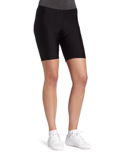 Canari Cyclewear Women's Velocity Short Padded Cycling Short (Black, Medium)