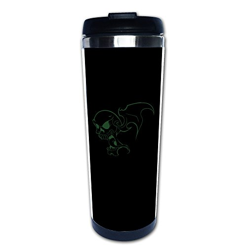 [SUNpp Scary Halloween Flying Skeleton Skull Coffee Thermos & Vacuum Flask] (Medusa Childs Halloween Costume)