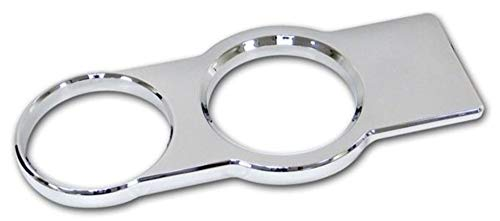 Pro-One Chrome Billet Cup Holder Bezel, 2005-09 - Billet Mustang Holder Cup