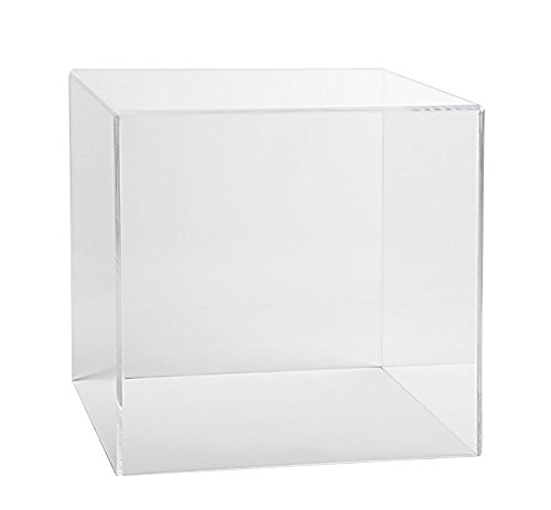 - Acrylic Box Case | 5 Sided Display Cube | Museum Box Case | Square Box | Collectible Display Cover (4