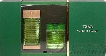 TSAR for Men 2 Piece set: 3.3 oz Eau de Toilette Spray + 3.4 oz All Over Shampoo (New Package) by Van Cleef & Arpels