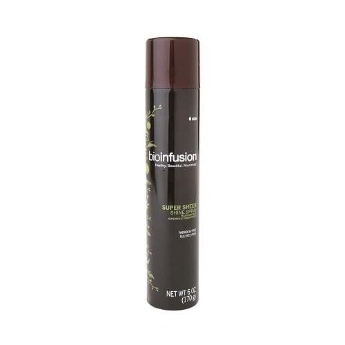 Bioinfusion Super Sheer Shine Spray 6 oz free shipping