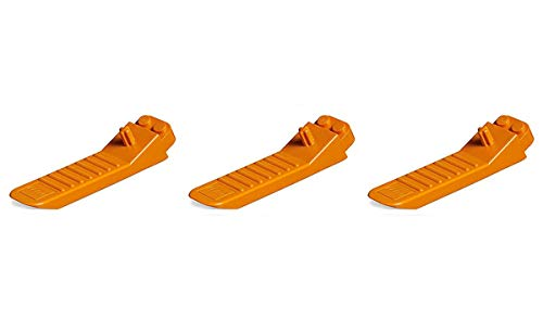 Lot of 3 Lego Accessories Orange Brick and Axel Separator Tool piece