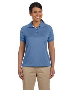 - Devon & Jones Women's Short Sleeve Dri-Fast Advantage Colorblock Mesh Polo Golf Shirt DG375W blue 2X