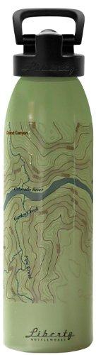UPC 610585993811, Liberty Bottleworks Grand Canyon Sport Water Bottle, Edamame, 32-Ounce