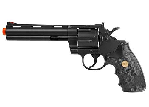 TSD Sports UA938B 6 inch Spring Powered Airsoft Revolver - Pistol Air Magnum