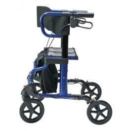 Lumex HybridLX Rollator Transport Chair -REPLACEMENT FOOTRESTS FOR HYBRIDLX - MAJESTIC BLUE - PR 1 by GF Health
