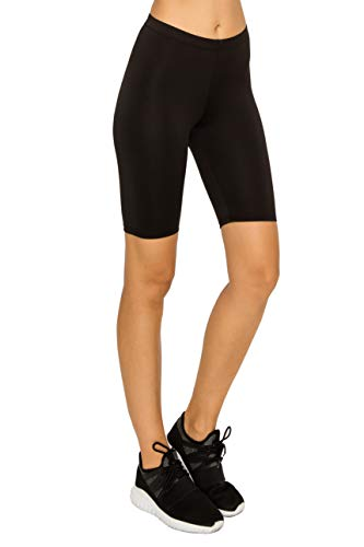 - Athletic Spandex Volleyball Booty hot Yoga Shorts-Running Biker Gym Sport Workout Black M