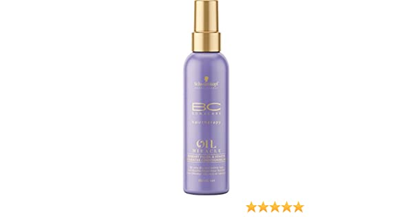 fb119d7e05 Amazon.com: Schwarzkopf BC Miracle Barbary Fig Oil Treatment: Beauty