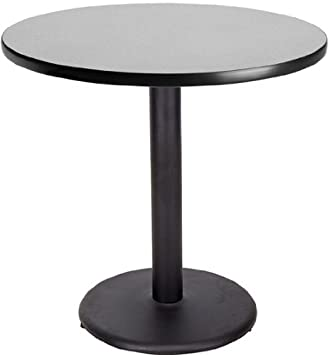 Amazoncom Inch Round Cafe Table Gray Nebula By Banquet Tables - Round metal cafe table