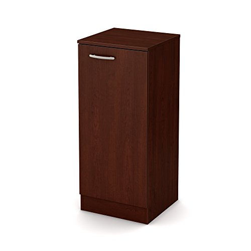 Contemporary Collection Cabinet (South Shore Axess Narrow Storage Cabinet, Royal Cherry)