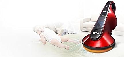 Aspirador antiácaros Bed Cleaner LG vh9500dsw inalámbrico 100 W ...
