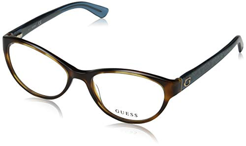 Guess GU 2592 052 54mm Dark Havana Eyeglasses (Guess Eye Glass Frames)