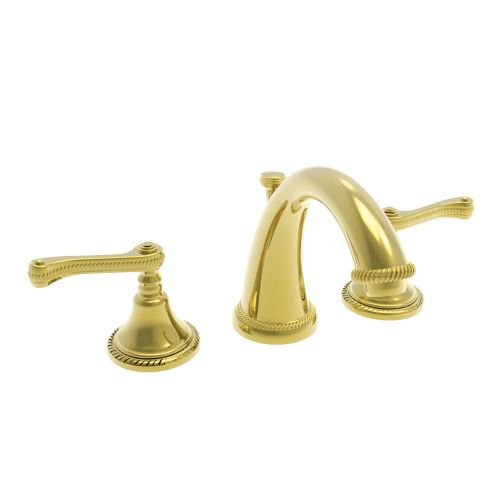 Newport Brass 1020/01 1020 Series Widespread Lavatory Faucet, Forever Brass