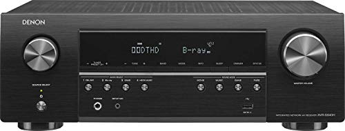 Denon AV Receivers Audio & Video Component Receiver Black (AVRS640H) (Renewed)
